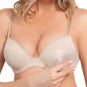 Nordstrom tru cool nude push-up enhancers o/s